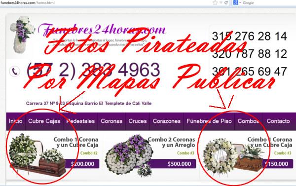 """Copiar sin Autorización Fotografías de la red es """"piratear"""""""